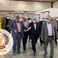 بازدید مقامات استان قزوین از کارخانه کاسپین نان سحر